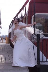 West Coast Wilderness Railway, wedding, Strahan