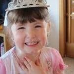 girl with tiara