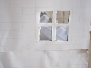 doll's house window