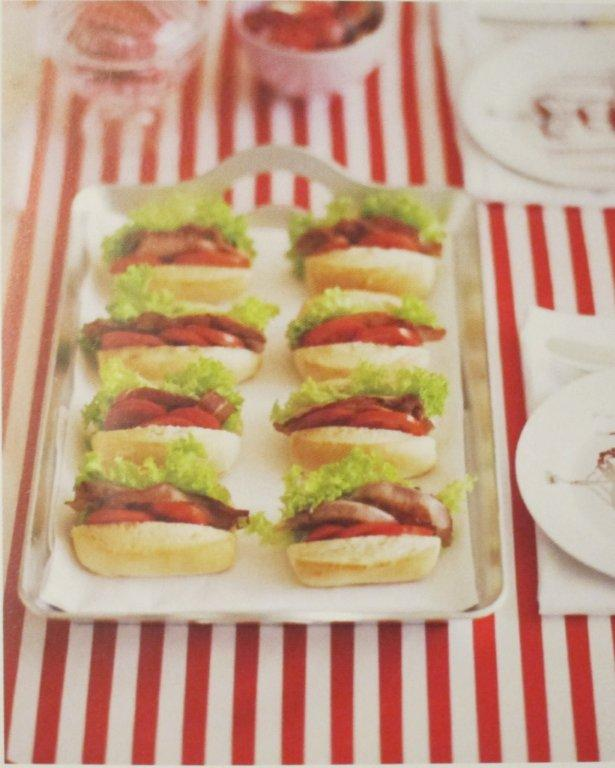 Baby BLTs Party Food