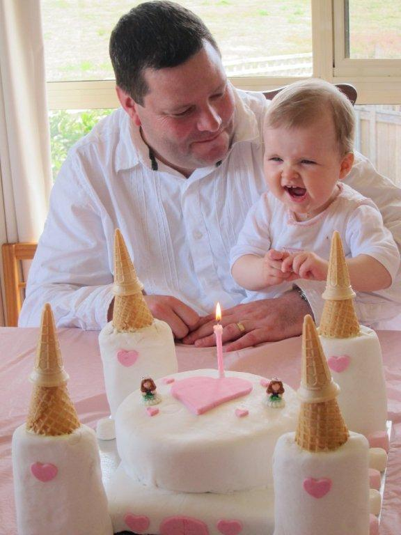Princess Castle Birthday Cake