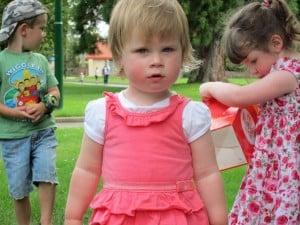Children in Launceston park