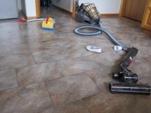 Dyson vacuum and children's vacuum
