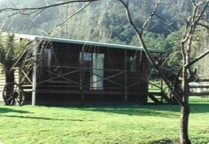 Wing's Wildlife Park, Gunns Plains, North West, Tasmania, accommodation, cabin