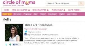 Circle of Moms, Top 25 Aussie Mum Blogs