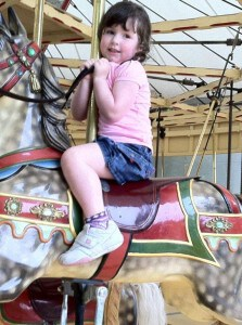 Melbourne Zoo carousel