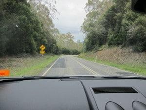 Strahan Village, Tasmania, road, West Coast,