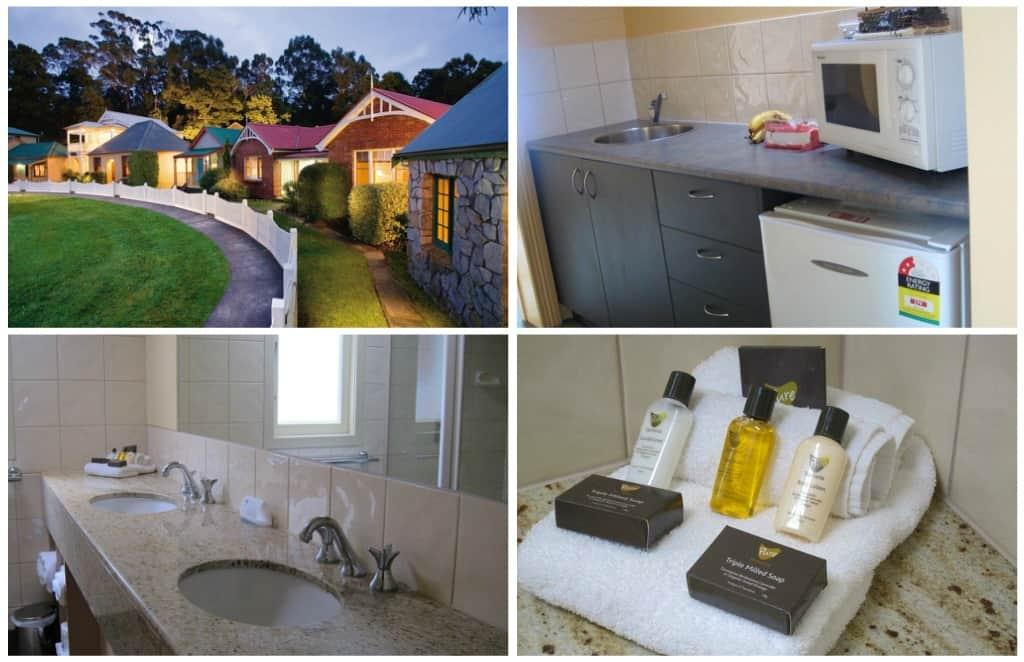 Strahan Village accommodation, Tasmania