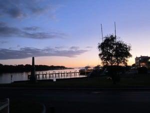 Strahan, sunset