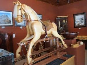 Strahan Woodworks, Tasmania, rockimg horse