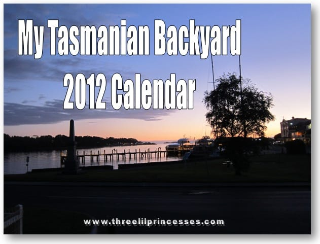 My Tasmanian Backyard 2012 Calendar free download printable