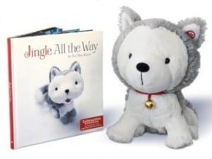 Jingle the Husky Pup