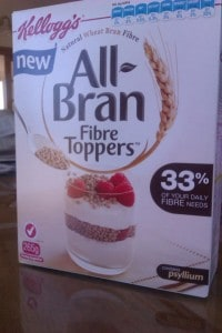 Kelloggs All Bran Fibre Toppers