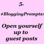 Blogging guest posts