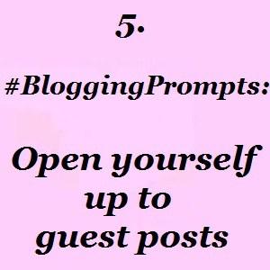Blogging guest posts