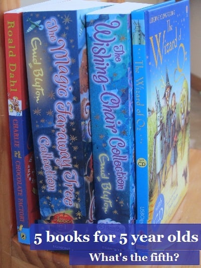 5 books for 5 year olds