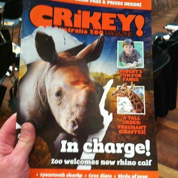 Australia Zoo magazine